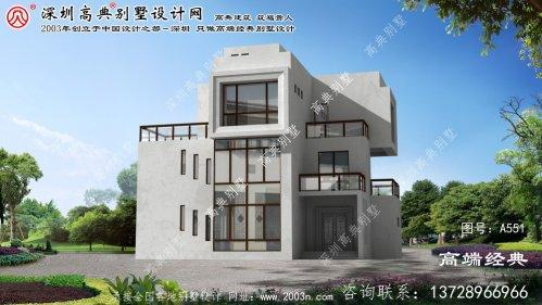 庐江别墅小型别墅设计图纸