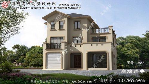 泗县新型农村二层半别墅