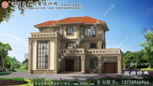 太和县农村建房平面设计