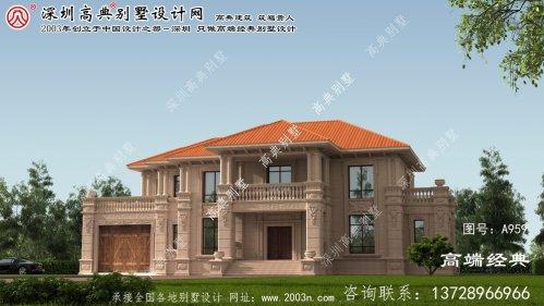 贵溪市新农村二层房屋设计