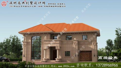 峡江县农村二层房屋平面图