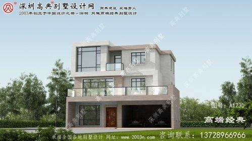 芮城县小别墅建筑设计图纸