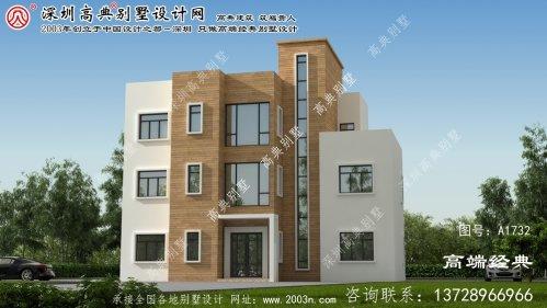 河津市三层别墅设计图平面图家乡好别墅