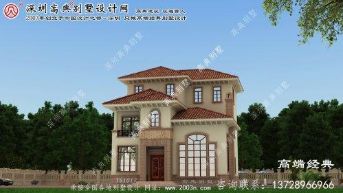 陈巴尔虎旗农村别墅设计图