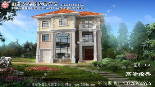 绥中县自建别墅设计图纸超市