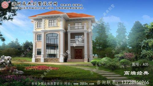 锦州市农村建房三层设计图