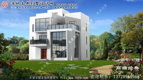汪清县别墅复式设计图