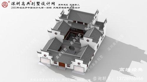 北关区农村小别墅三层设计图