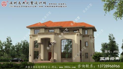 枣阳市大型别墅图纸