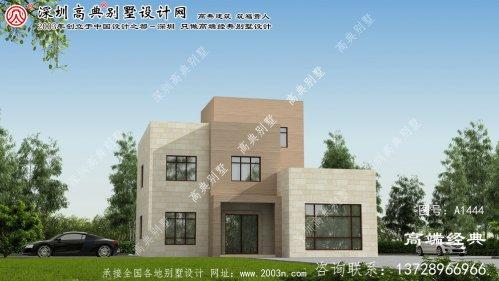 揭西县双层别墅户型图