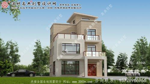 揭东县三层别墅图纸