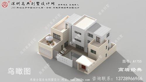 忻城县私家别墅设计平面图