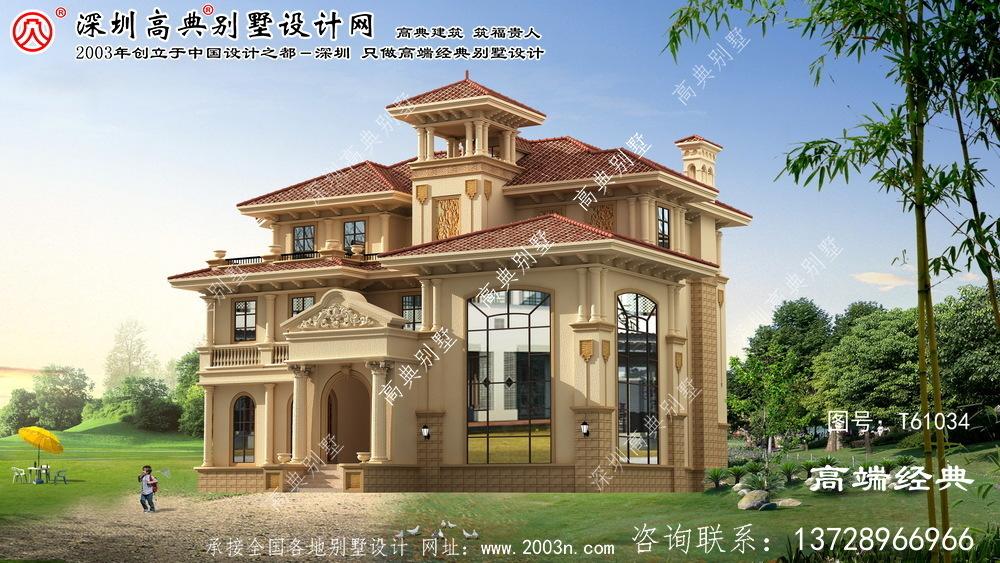 罗江县236平米别墅设计图