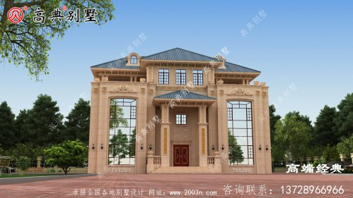 会东县别墅平面设计效果图