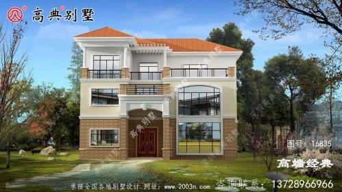 威信县乡村三层别墅图片