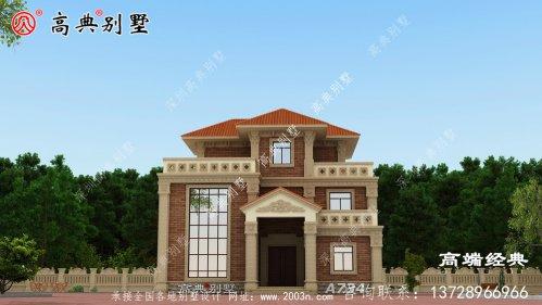 农村90平米别墅设计图