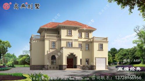 农村别墅非常纯朴有特色的房屋建筑