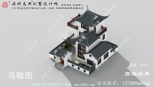 资阳区别墅 为中式风格 ,源于 传统文化 的优雅