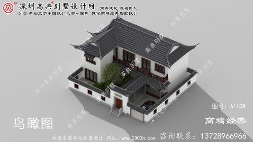 赫山区中式风格别墅,来自传统文化的优雅
