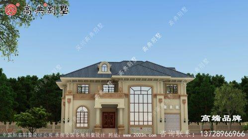 两层楼房设计