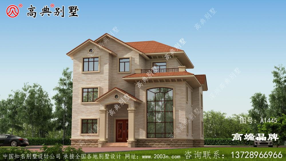 农村房型平面图美观实用造价低!