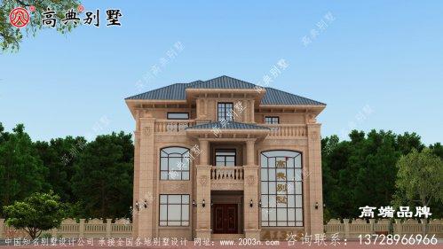 二层半别墅图纸大全色调清新美观