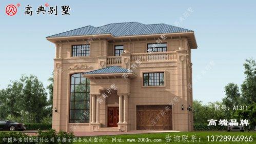 高端别墅设计图片外观清新典雅
