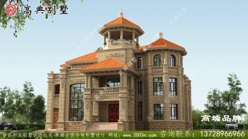 三层别墅设计图满足大家庭的自营