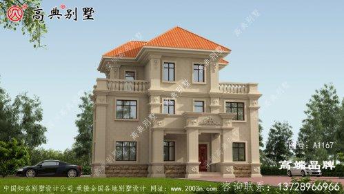 农村小别墅138平方设计图新农村要有新气象