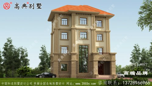 农村四层别墅足够满足现代生活需求的好户型。