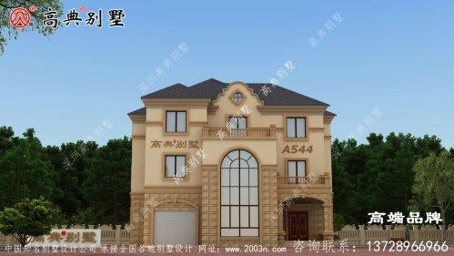 农村3层房屋设计图外观很朴实但又不缺流行元素
