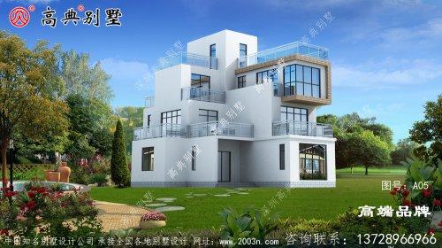 新农村自建房设计图纸大全经典的别墅户型