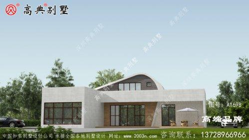 建设房子设计图片大全整栋房子显得清新亮丽