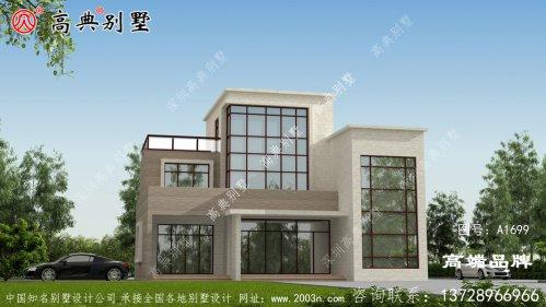 房子设计图稿采光通风效果俱佳