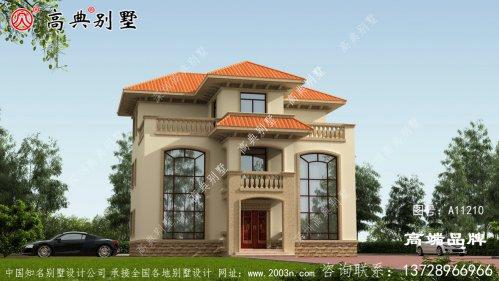 欧式别墅外观效果图设计