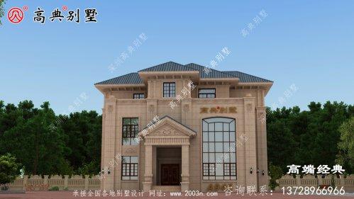晋城市三层 别墅设计图 ,奢华 大气 ,看谁敢说