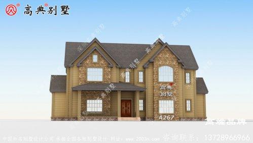 农村254平方房子设计图设计感十足。