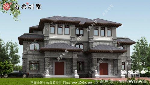 高雄市三层房屋设计图,户型经典耐看