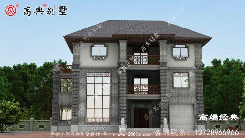 这样别墅建起来不仅美观,而且施工容易