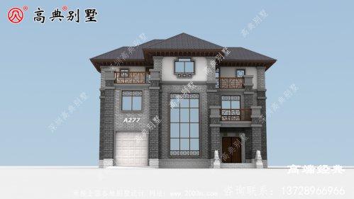 中式三层别墅居住的便利和舒适性绝对没得说