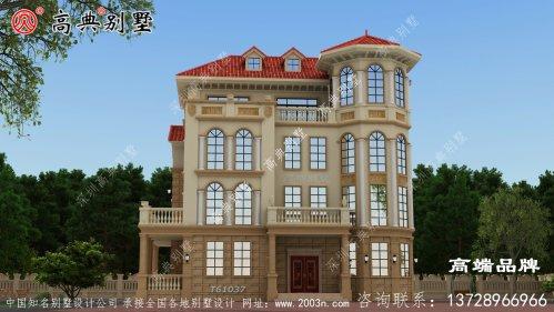 整栋别墅的外观造型,既美观又精致气派。