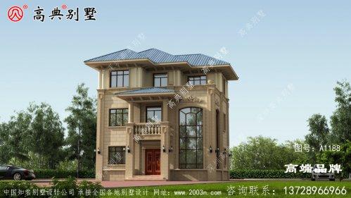 大窗设计,加强外观的美观性和室内的采光性