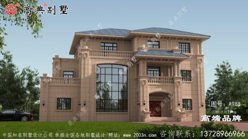 完美设计的欧式石材别墅,秒杀城里豪宅
