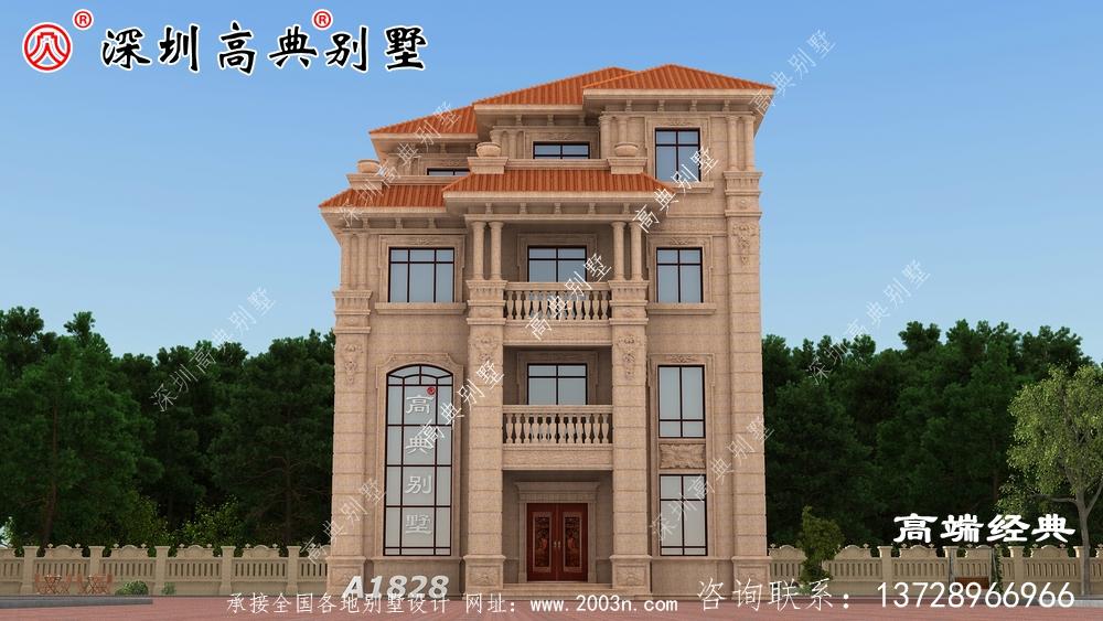 一栋美美的现代风别墅,就可以享受高品质的生活!