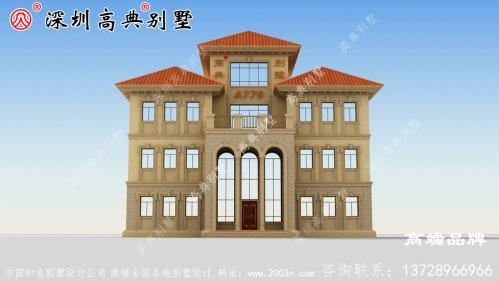 农村住宅设计方案,外型实在是太美,看到的人