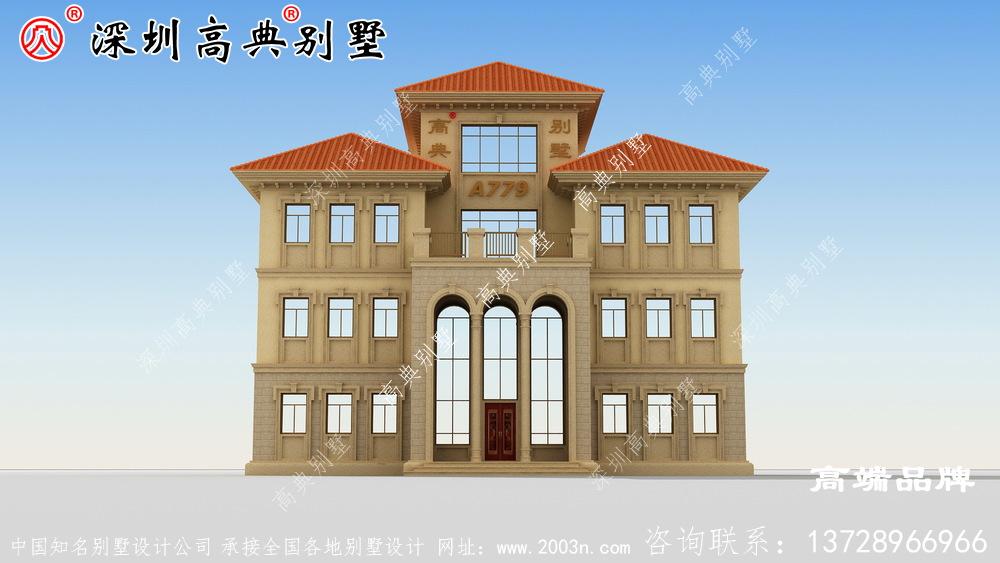 农村住宅设计方案,外型实在是太美,看到的人有福了