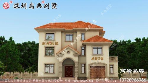 农村住宅设计方案,外型实在是太美