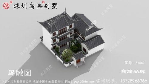 别墅设计图,超显富贵气质,自己住着也舒服开