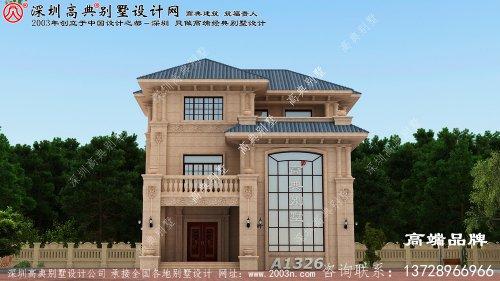 经典 欧式 三层别墅 设计图 解,希望 您能喜欢