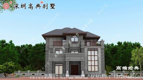 农村最美的房子,经济又实用,全